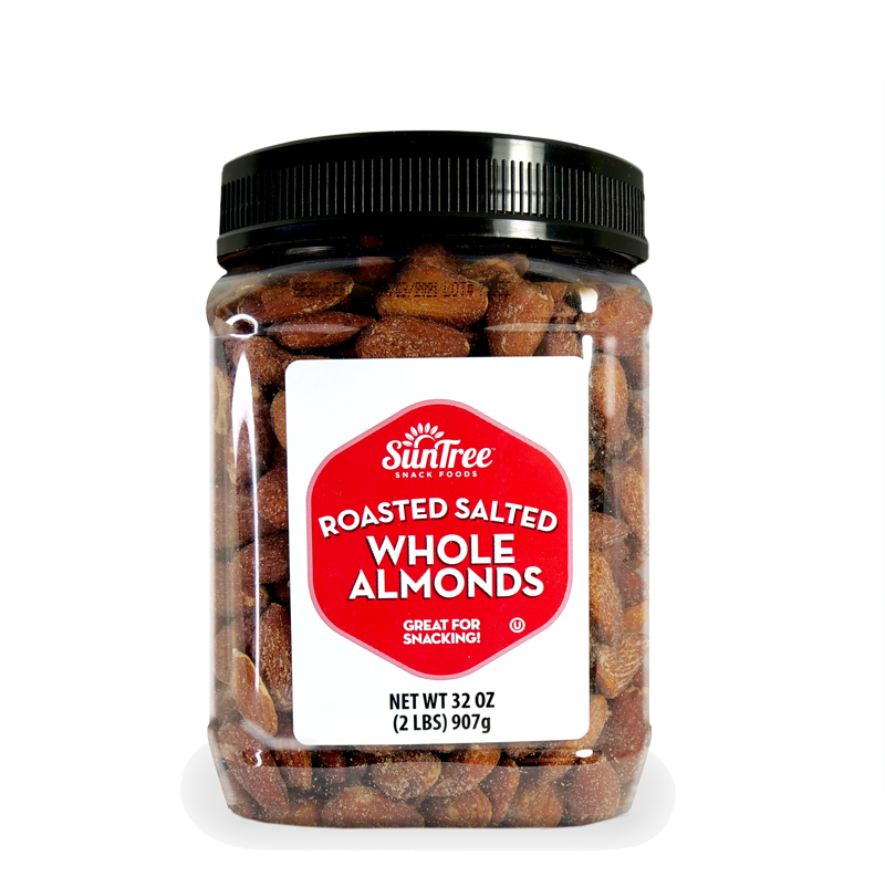 Roasted Salted Whole Almonds