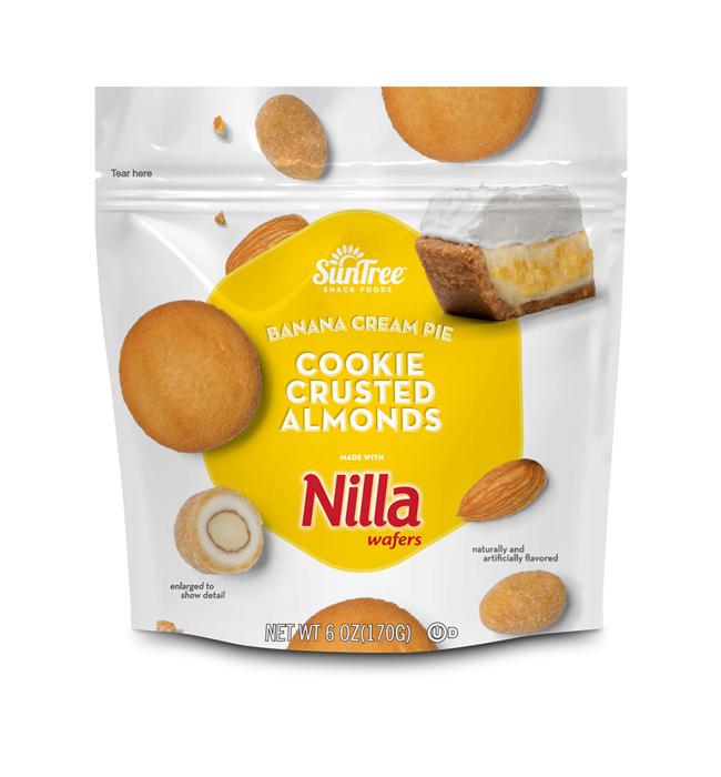 NILLA® Cookie Crusted Banana Cream Pie Almonds
