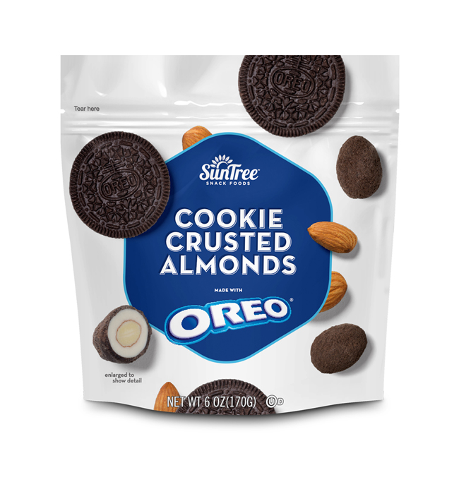 OREO<sup>®</sup> Cookie Crusted Almonds