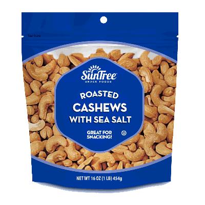 Roasted Cashews Sea Salt